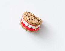 Sweet vampire teeth for Halloween