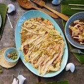 Kimchi-style salad