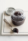 Plum and thyme preserve