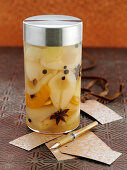 Pickled pears as Christmas present