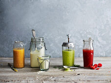 Sugar Free Dressings - Maple and Dijon, Healthy Caesar, Avocado, Lemon and Dill, Raspberry and White Balsamic
