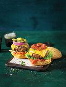 Cheeseburger, Smoky chorizo burger