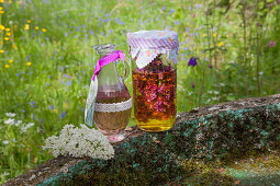 Handmade lilac oil (bath oil or massage oil)