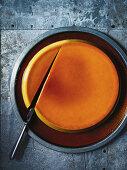 Golden syrup creme caramel