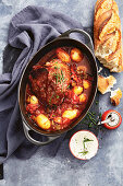 "Beef roast ""goulash"" style pot roast"