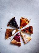 Six tarte varieties