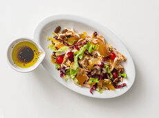 Chicken salad with mustard and balsamic vinaigrette