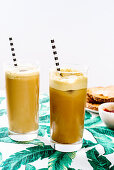 Golden-milk iced coffee
