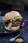 Carp burger
