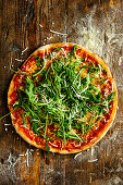 Pizza with rocket