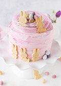 A mandarin Easter cake