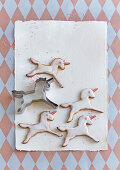 Swedish gingerbread unicorns