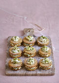 Spiced pistachio biscuits