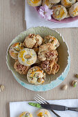 Small scones, savoury and sweet
