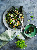 Chicken, Cavolo Nero and Brussel Sprouts Salad