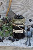 Rosehips Vinegar from black rosehips