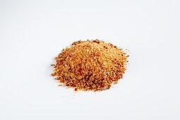 Homemade spice salt with harissa