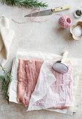 Tenderised pork for roulade