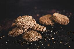Homebaked chocolate cookies