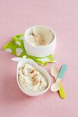 Banana and Egg Yolk Custard for babies (6-9 Months)