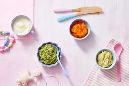 Vegetable Puree for babies (6-9 Months)
