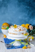 Meringue cake for Easter