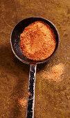Homemade BBQ pork rub (Texas)
