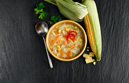 Chicken Noodle Soup with Chilli