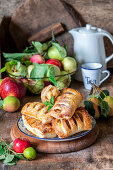 Apple and pear parcels