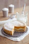 Lyon pear cake