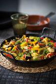 Paella di verdure
