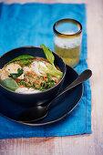 Authentic Thai chicken curry