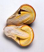 A Caesar's mushroom (Amanita caesarea)