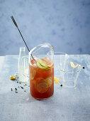 Spiced ginger cocktail