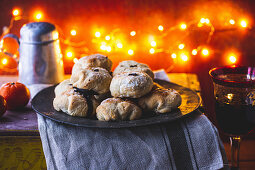 Mocha mince pie Eccles cakes for Christmas