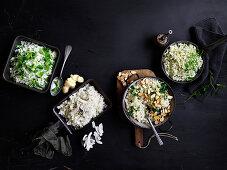 Rice sides variety