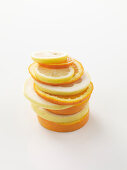 Stacked citrus slices