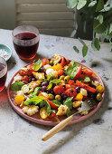 Panzanella - Tuscan bread salad