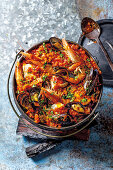 Seafood potjie (South Africa)