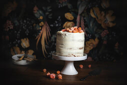 Pumpkin Layer Cake with Cream Cheese Frosting