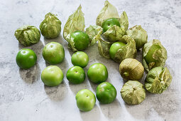 Mexican green tomatoes
