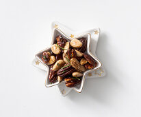 Honey whiskey nuts