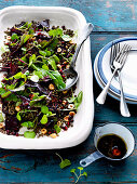 Baby Beetroot, Lentil and Watercress Salad