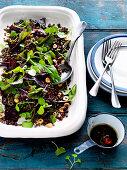 Rote-Bete-Linsen-Salat mit Brunnenkresse