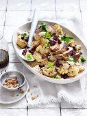 Chicken, Burghul and Pomegranate Salad