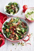 Hoisin Beef and Shiitake stir-fry