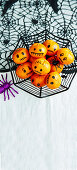 Healthy Halloween: Halloween Mandarins