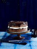 Chocolate Sponge with Ganache
