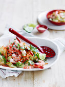 Prawn and Brown Rice Salad