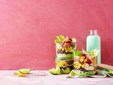 Shake-it Mexichicken salad